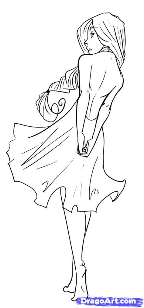 Drawing Bodies by How To Draw Figures Draw Bodies Step By