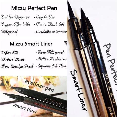 Mizzu Eyeliner Black And Brown Mizzu Mascara Waterpr Diskon 94 jual mizzu eyeliner pen wear black original murah