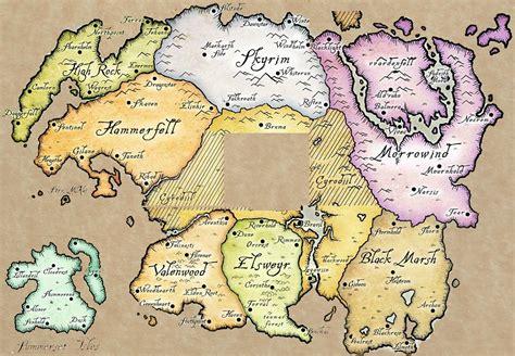 elder scrolls map the elder scrolls world map the elder scrolls v skyrim