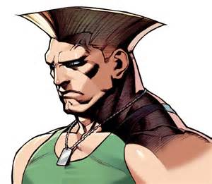guile video games artwork