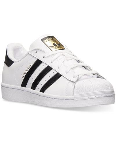 Adidas Superstar High Casual adidas s superstar casual sneakers from finish line