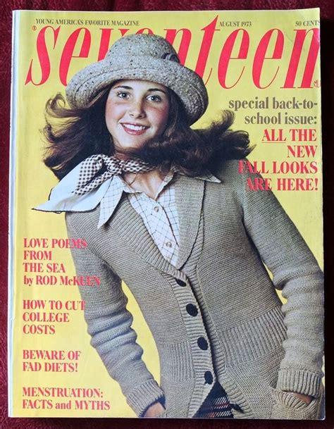 Jpg Magazine by Seventeen Magazine August 1973 Becky Aleu Liza Minnelli