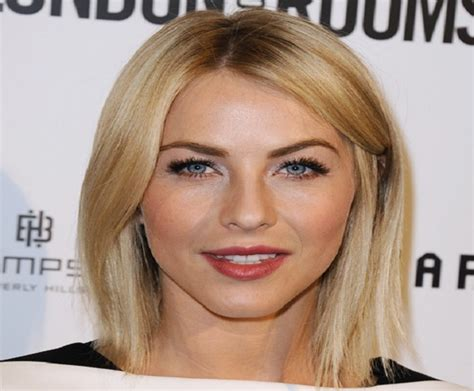what face shape is julianne hough long vs medium celebrity hairstyles which was best