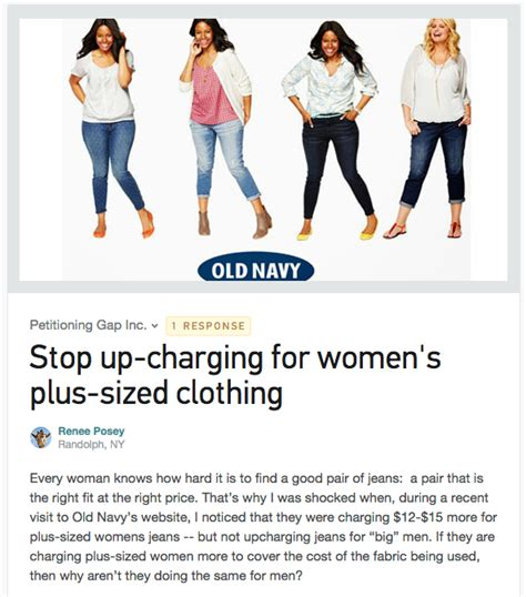Navy To Discontinue Plus Size Line In Store by Navy Controversy Exposes A Major Problem With Plus