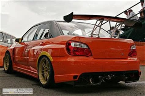 jdmplayground subaru v8 team orange bodykit