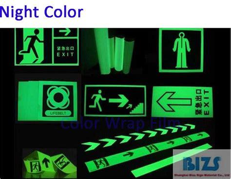 film cinta on delivery photo luminescent tape glow in dark reflective vinyl 92cm