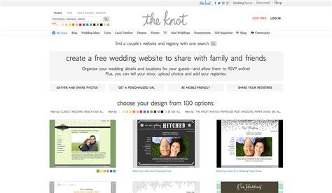 Wedding Knot Website by Create Your Wedding Website For Free Wdexplorer