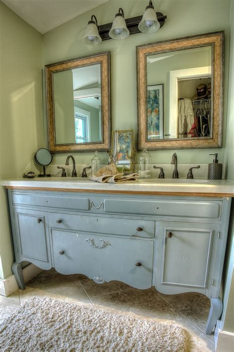 repurposed vanity bathroom remodel ideas