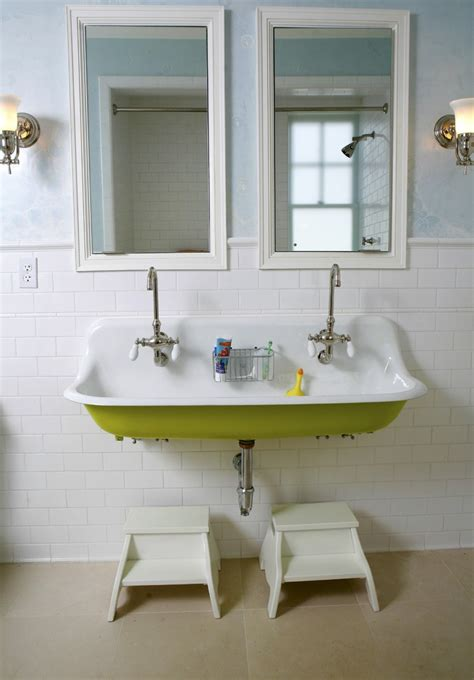 magnificent trough sink in bathroom contemporary with trough sink bathroom contemporary philadelphia with