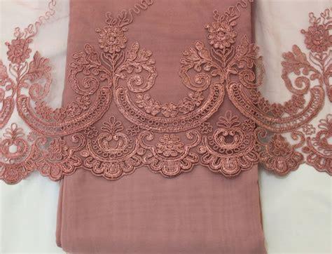 Baju Nikah Guna Kain Apa moon punyer kain lace chiffon
