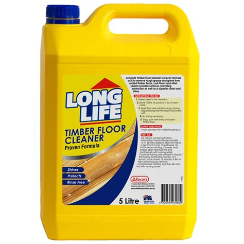 long life 5l timber floor cleaner bunnings warehouse
