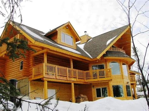 homer alaska real estate luxury log home on the kenai river