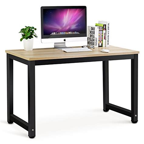 Modern Style Computer Desk Tribesigns Modern Simple Style Computer Desk Pc Laptop Study Table Office Desk Workstation For