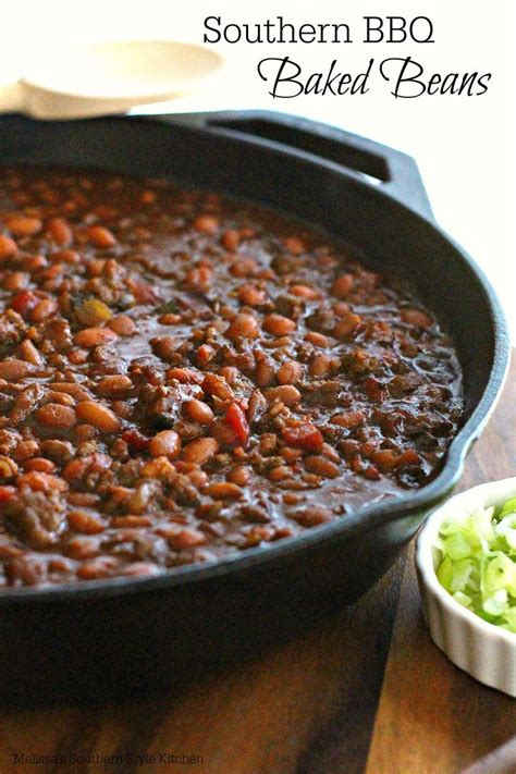 southern barbecue baked beans recipe simple posts and