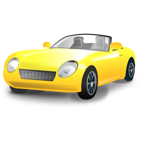 cartoon sports car png the gallery for gt yellow car clipart