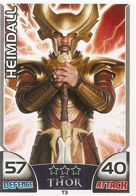 thor movie vault items trading cards topps hero attax marvel universe thor