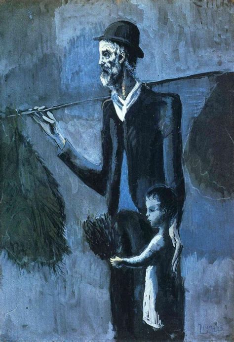 unique picasso paintings pablo picasso blue period picᗩsso blue period