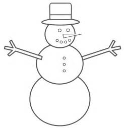 snowman coloring page stencil of snowman new calendar template site