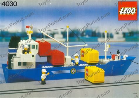 lego cargo boat sets lego 4030 cargo carrier set parts inventory and