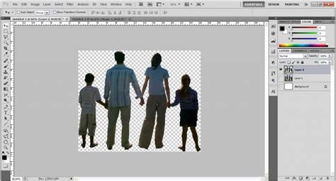 photoshop cs5 tutorial cut out background cutting out an object without having background