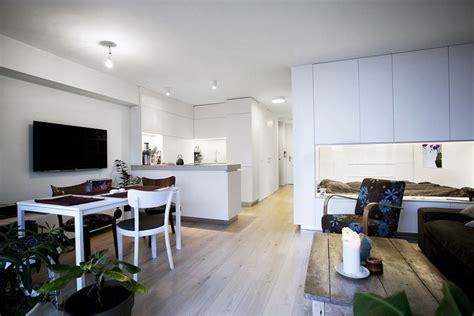 apartamentos con dise 241 o de plano de apartamento peque 241 o de un dormitorio