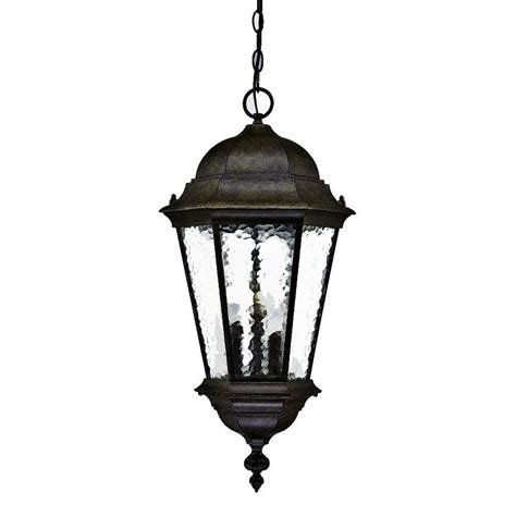 Outdoor Hanging Lantern Light Fixtures Acclaim Lighting Collection Ceiling Mount 2 Light Outdoor Matte Black Light Fixture 9305bk