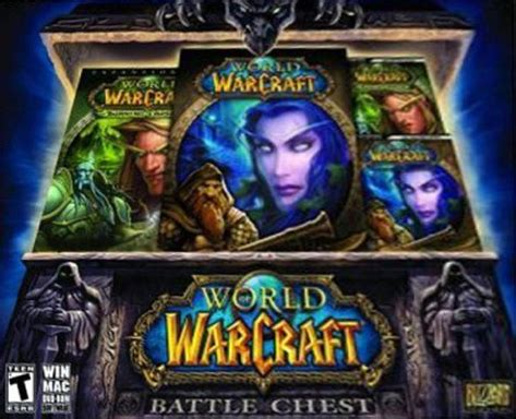 Pc Original World Of Warcraft Battle Chest 1 world of warcraft battle chest box for pc gamefaqs