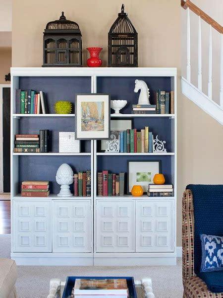home dzine home decor diy ideas to transform a bookcase