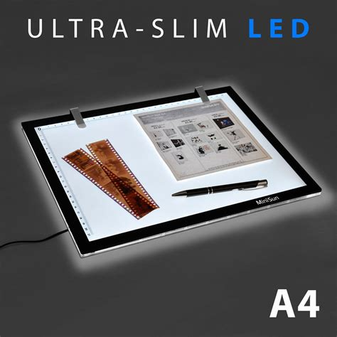 tattoo light box a4 led ultra slim craft stencil tracing light