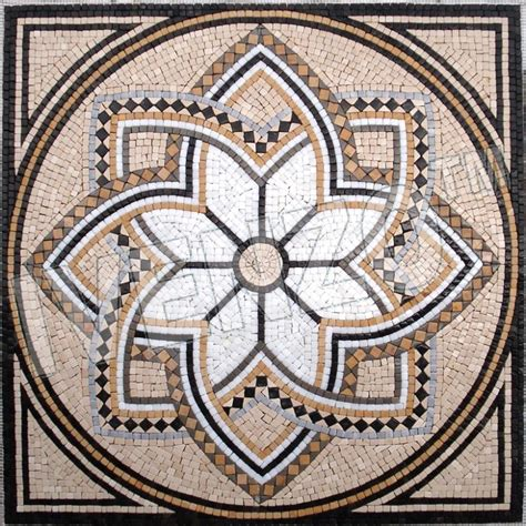 mosaic mandala pattern mosaico gk011 mandala ideias inspiradoras pinterest