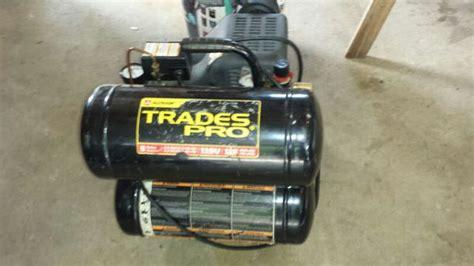 trades pro air compressor tools machinery  oak lawn