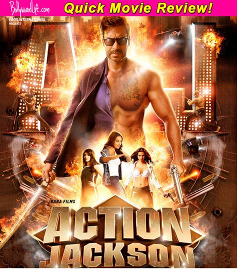 film action jackson action jackson quick movie review ajay devgn sonakshi