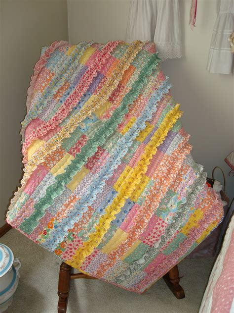 just quilts fluffy ruffles