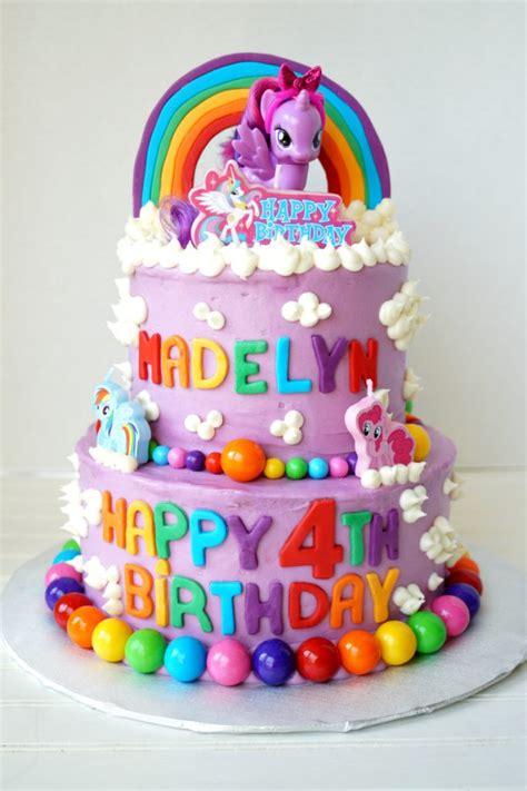 Cake Toppers Tema My Baby Tusukan Kue Ultah Baby my pony tiered birthday cake the baking