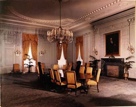 Restaurants Near White House by File White House State Dining Room 07 15 1952 Jpg