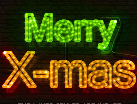 free download christmas light action for photoshop 40 most eye popping 2d 3d photoshop text effects web graphic design bashooka