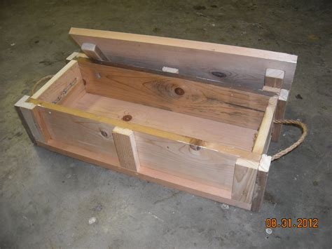 Jigs: Wood ammo box plans
