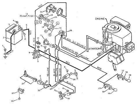 craftsman mower wiring diagram wiring diagram with