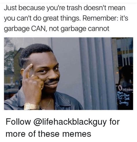 Garbage Meme - 25 best memes about garbage can garbage can memes