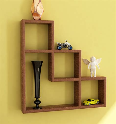 buy home sparkle l shaped wall rack in india