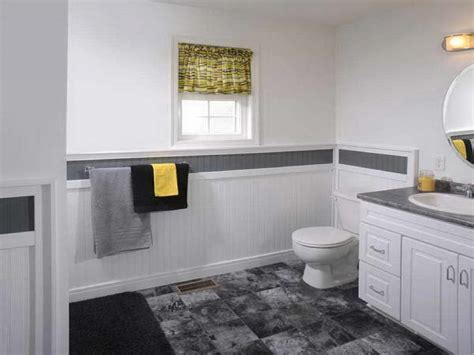 bathroom wainscoting height bathroom wainscoting with tile john robinson house decor