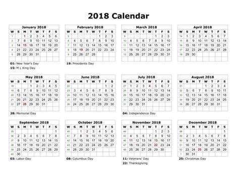 printable calendar 2018 ontario printable 2018 calendar with holidays calendar 2018