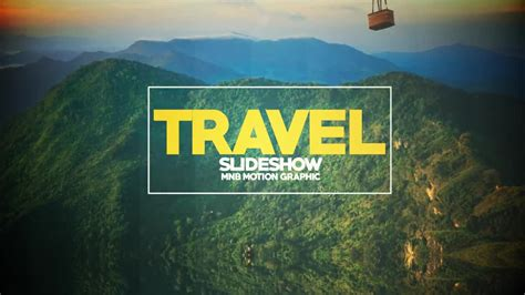 after effects free travel templates travel slideshow after effects templates motion array