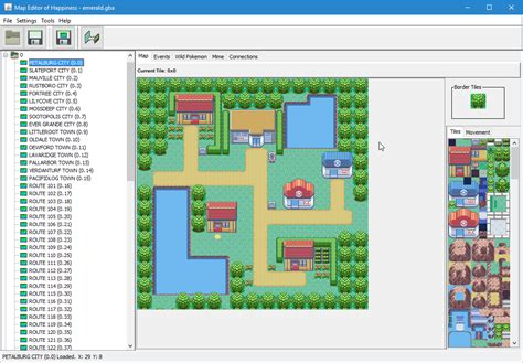 edit map map editor of happiness hack rom tools