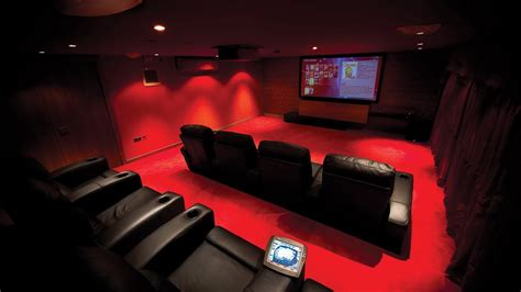 amazing chic home cinema in cheshire installation