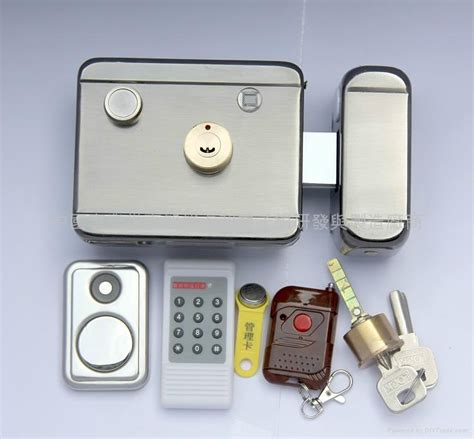 Electric Door Knob by Electric Remote Lock With Clock 2048 Unlocking