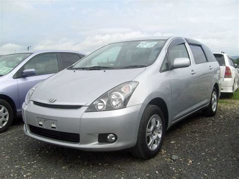 2004 Toyota Wish 2004 Toyota Wish Pictures 1800cc Gasoline Automatic