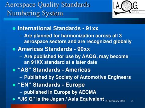 Aerospace Quality Engineer by Ppt Aerospace Quality Management System Standard As En Jis Q9100 Powerpoint Presentation
