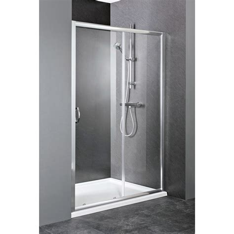 Elle Sliding Shower Door Enclosure 1200mm Shower Door Enclosure