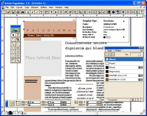 layout buku dengan adobe pagemaker images adobe pagemaker